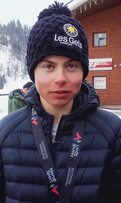 Jules Segers aux Championnats de France 2018