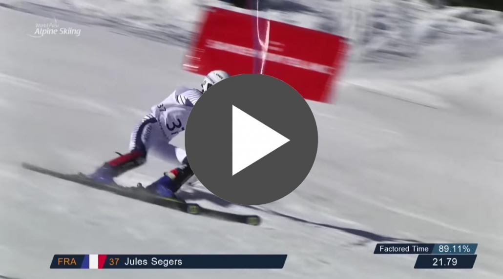 Voir la première manche de Jules Segers - LIVE Youtube