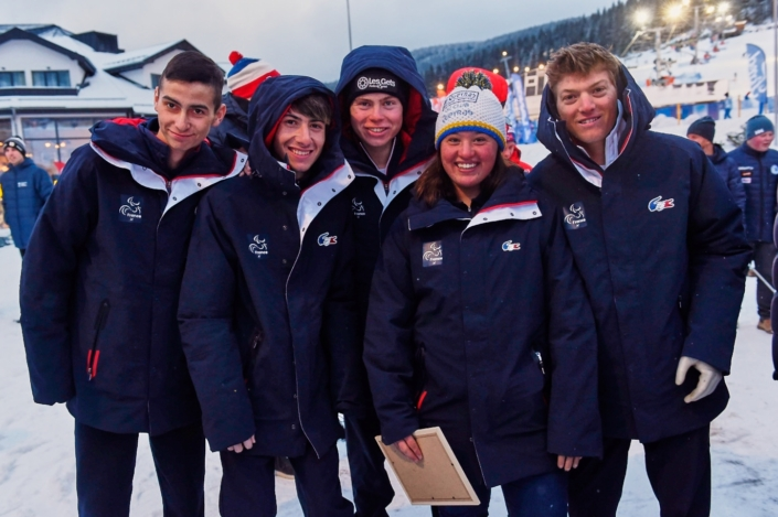 L'équipe de France aux Jeux Para Européens de la Jeunesse